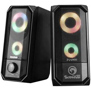 Boxe Gaming Bluetooth MARVO SG-265 BT, 2.0, 6W, negru