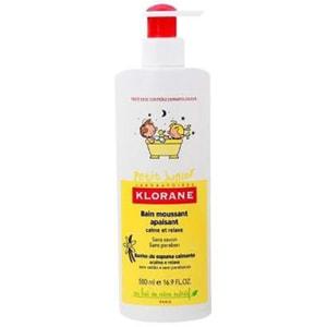 Spumant calmant cu aroma de vanilie KLORANE BEBE, 500ml