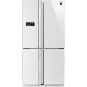 Side-by-Side SHARP SJ-FS820VSL, 600 l, 183, A++, alb
