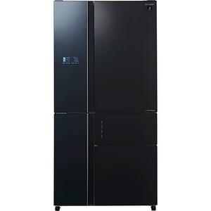 Side-by-Side SHARP SJ-SX830FBK, 660 l, 185 cm, A++, negru