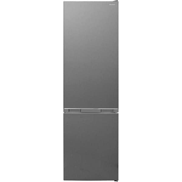 Combina frigorifica SHARP SJ-BA05DTXLF-EU, AdvancedNoFrost, 270 l, H 180 cm, Clasa F, gri