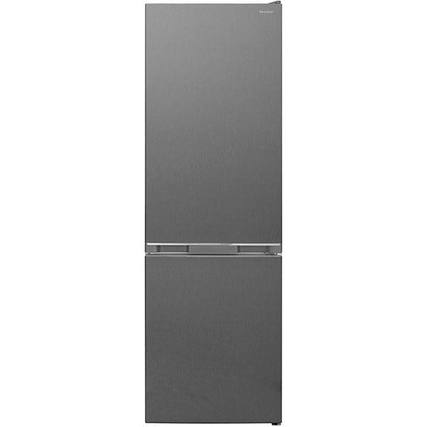 Combina frigorifica SHARP SJ-BB04DTXLF-EU, NanoFrost, 268 l, H 170 cm, Clasa F, gri