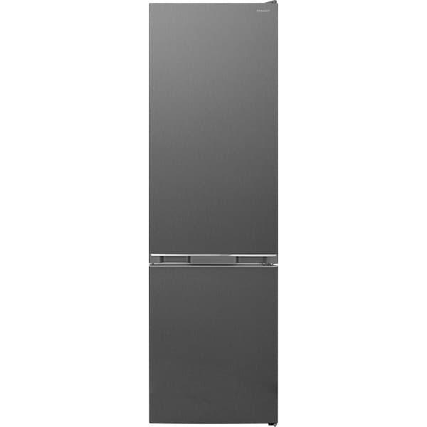 Combina frigorifica SHARP SJ-BB05DTXLF-EU, NanoFrost, 288 l, H 180 cm, Clasa F, gri