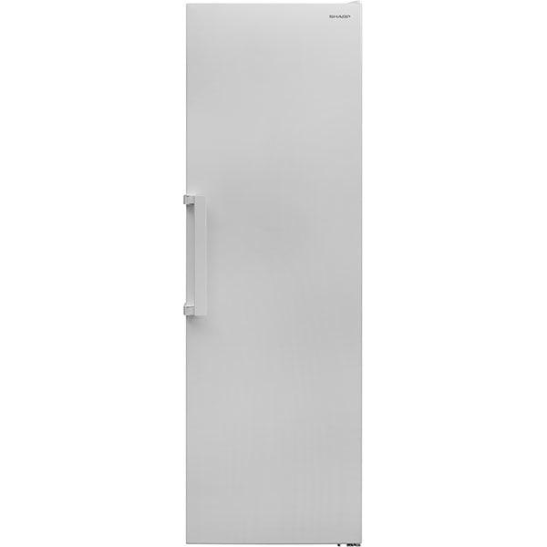 Congelator SHARP SJ-SC11CMXWF-EU, No Frost, 280 l, H 186 cm, Clasa F, alb