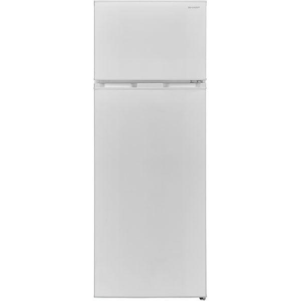 Frigider cu doua usi SHARP SJ-TB01ITXWF-EU, NanoFrost, 213 l, H 144 cm, Clasa F, alb