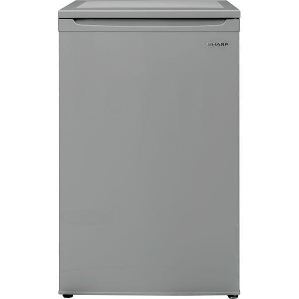 Frigider cu o usa SHARP SJ-UF088M4S-EU, Direct Cooling, 89 l, H 82.1 cm, Clasa F, argintiu