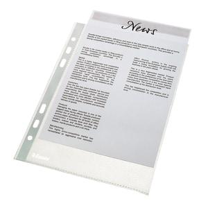 File de protectie documente ESSELTE Economy, A4, 35 microni, 100 bucati