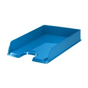 Tavita documente ESSELTE Europost Vivida, plastic, albastru