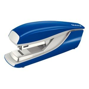 Capsator LEITZ 5505, 24/6; 26/6, 30 coli, albastru