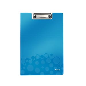 Clipboard dublu LEITZ WOW, A4, albastru