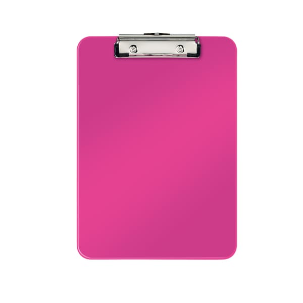 Clipboard simplu LEITZ WOW, A4, roz