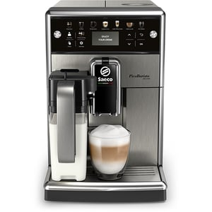 Espressor automat SAECO PicoBaristo Deluxe SM5573/10, 1.7l, negru-argintiu
