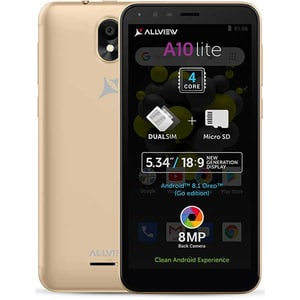 Telefon ALLVIEW A10 Lite 8GB, 1GB RAM, Dual SIM, Gold