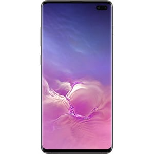 Telefon SAMSUNG Galaxy S10 Plus, 128GB, 8GB RAM, Dual SIM, Ceramic Black