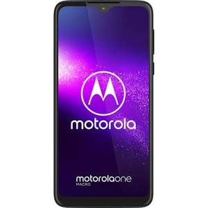Telefon MOTOROLA One Macro, 64GB, 4GB RAM, Dual SIM, Space Blue