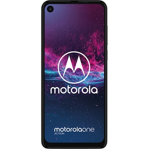 Telefon MOTOROLA One Action, 128GB, 4GB RAM, Dual SIM, White