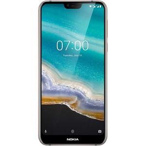 Telefon NOKIA 7.1 64GB, 4GB RAM, Dual SIM, steel gray
