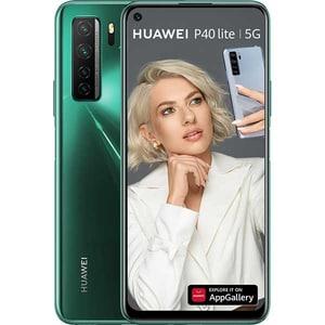 Telefon HUAWEI P40 Lite 5G, 128GB, 6GB RAM, Dual SIM, Crush Green