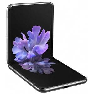 Telefon SAMSUNG Galaxy Z Flip, 256GB, 8GB RAM, Dual SIM, 5G, Mystic Gray