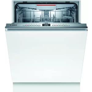 Masina de spalat vase incorporabila BOSCH SMV4HVX45E, 13 seturi, 6 programe, 60 cm, Clasa E, argintiu