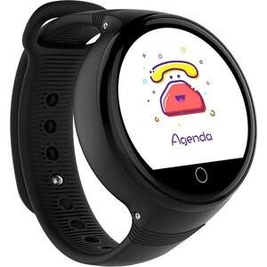 Smartwatch pentru copii MYRIA MY9515BK, Android, silicon, negru