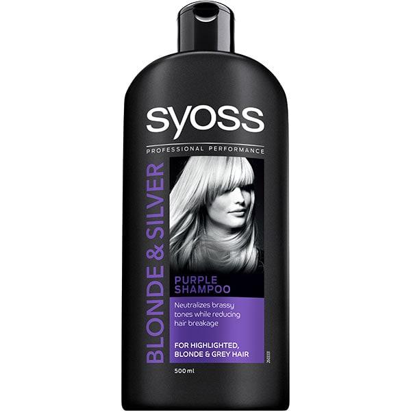 Sampon SYOSS Blonde&Silver, 500ml