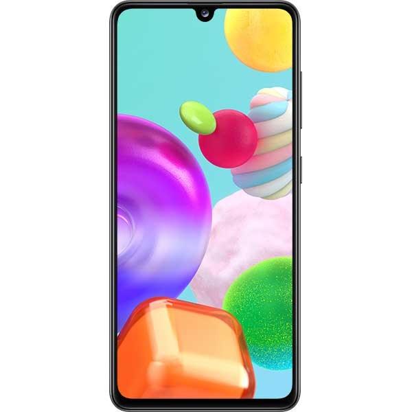 Telefon SAMSUNG Galaxy A41, 64GB, 4GB RAM, Dual SIM, Prism Crush Black