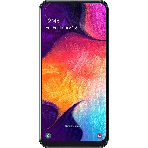 SAMSUNG Galaxy A50, 128GB, 4GB RAM, Dual SIM, Black