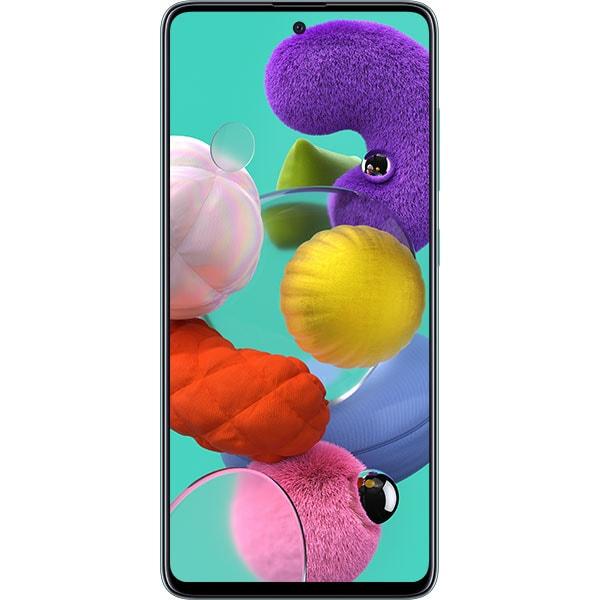 Telefon SAMSUNG Galaxy A51, 128GB, 4GB RAM, Dual SIM, Prism Crush Blue