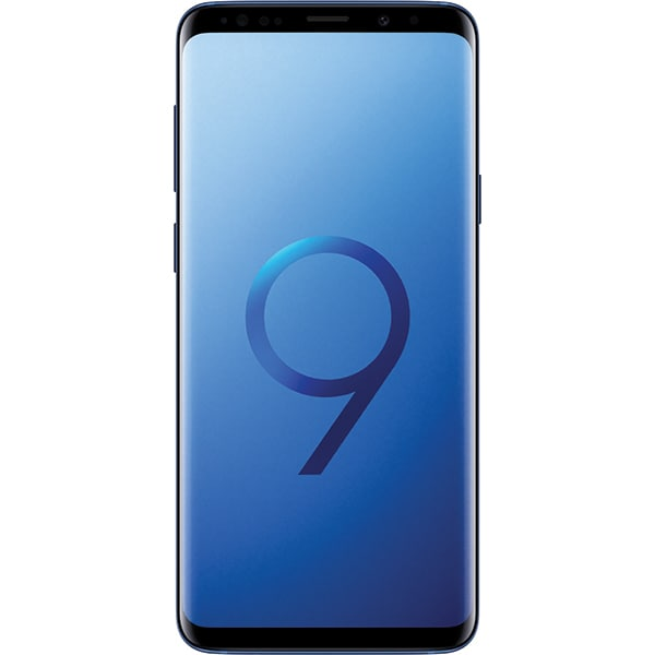 SAMSUNG Galaxy S9 Plus, 64GB, 6GB RAM, Dual SIM, Blue