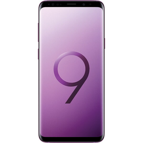 SAMSUNG Galaxy S9 Plus, 64GB, 6GB RAM, Dual SIM, Purple
