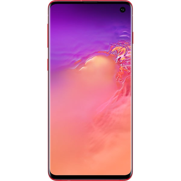 SAMSUNG Galaxy S10, 128GB, 8GB RAM, Dual SIM, Red
