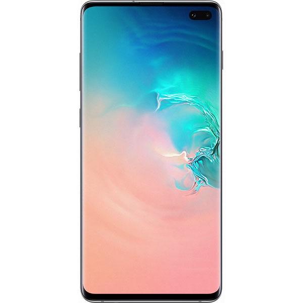 SAMSUNG Galaxy S10 Plus, 128GB, 8GB RAM, Dual SIM, Prism White
