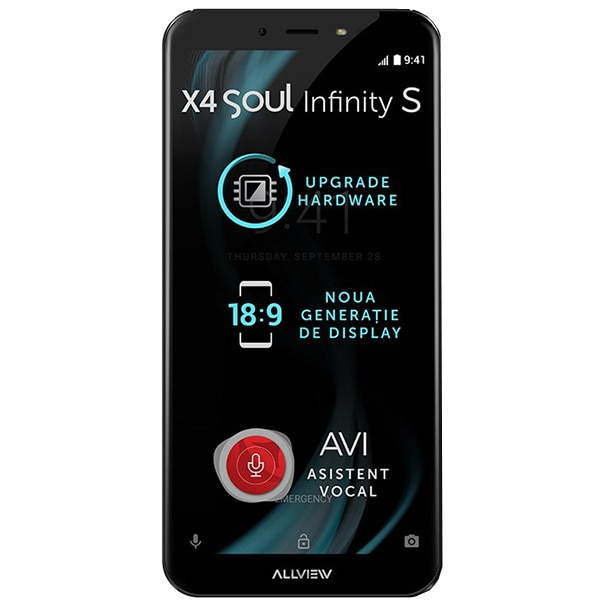 Telefon ALLVIEW X4 Soul Infinity S, 16GB, 3GB RAM, Dual SIM, Mocha Gold