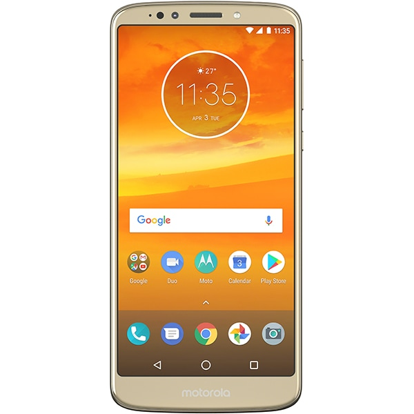 Telefon MOTOROLA Moto E5 Plus, 32GB, 3GB RAM, Dual SIM, Gold