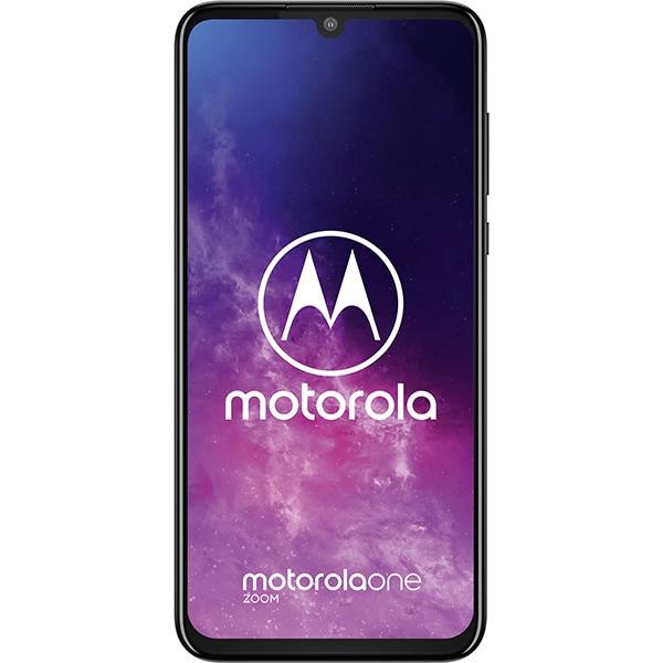 Telefon MOTOROLA One Zoom, 128GB, 4GB RAM, Dual SIM, Electric Gray