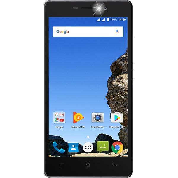 Telefon MYRIA Five MY9039, 16GB, 2GB RAM, Dual SIM, Black