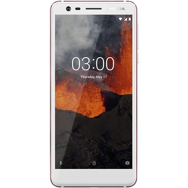 Telefon NOKIA 3.1 2018, 16GB, 2GB RAM, Dual SIM, White