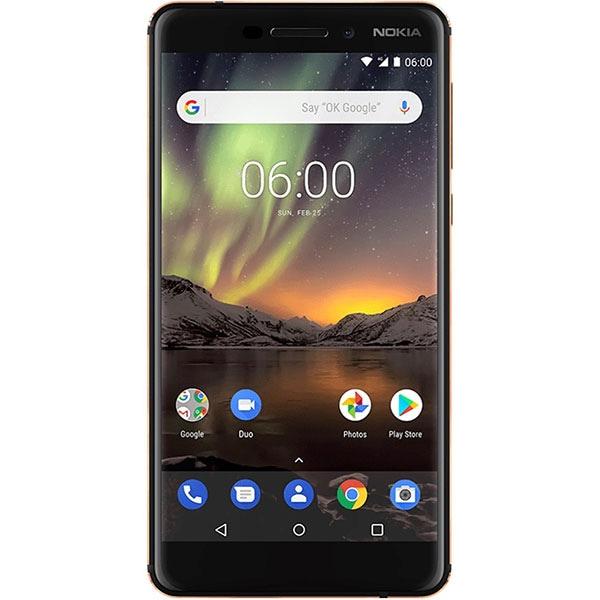 Telefon NOKIA 6.1 2018, 32GB, 3GB RAM, Dual SIM, Black