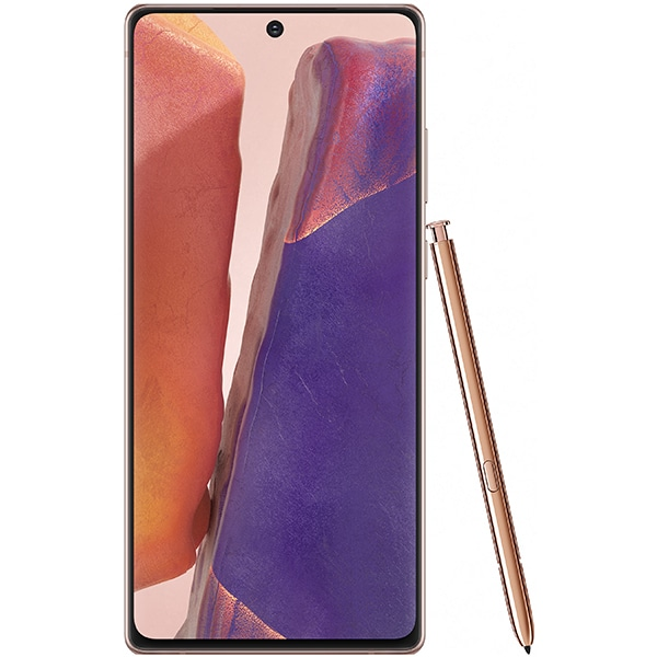 Telefon SAMSUNG Galaxy Note 20 5G, 256GB, 8GB RAM, Dual SIM, Mystic Bronze