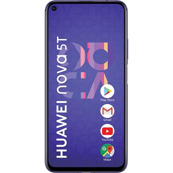 Telefon HUAWEI Nova 5T, 128GB, 6GB RAM, Dual SIM, Midsummer Purple
