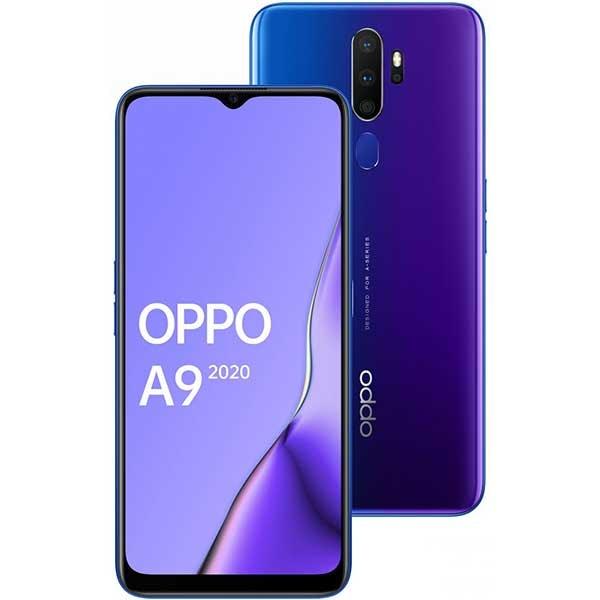 Telefon OPPO A9 2020, 128GB, 4GB RAM, Dual SIM, Space Purple
