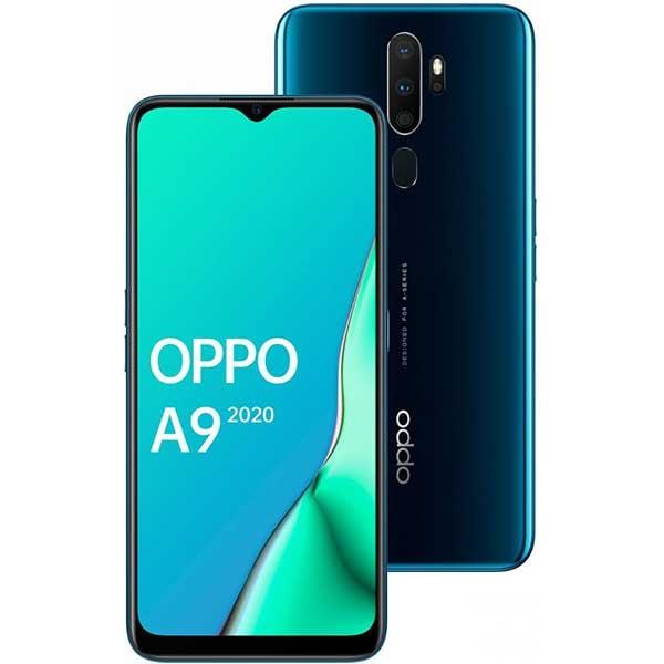 Telefon OPPO A9 2020, 128GB, 4GB RAM, Dual SIM, Dark Green