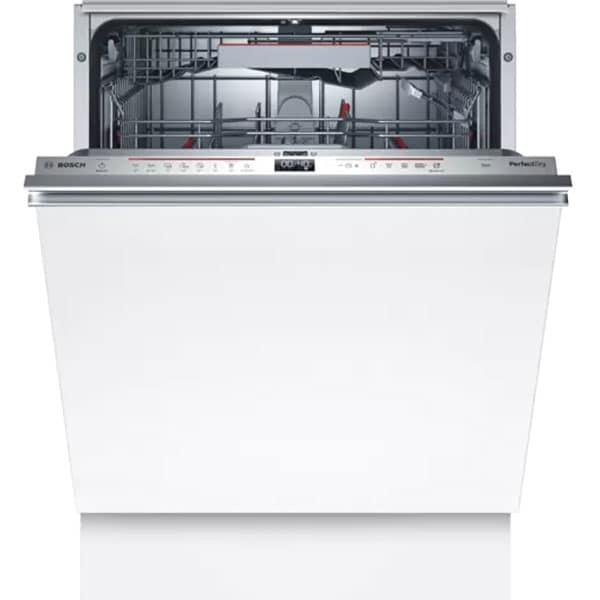 Masina de spalat vase incorporabila BOSCH SMV6EDX57E, 13 seturi, 8 programe, 60 cm, Clasa D, inox