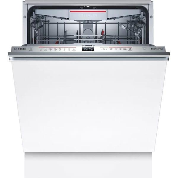 Masina de spalat vase incorporabila BOSCH SMV6ZCX42E, Wi-Fi, 14 seturi, 8 programe, 60 cm, Clasa C, inox