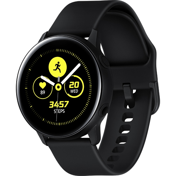 Smartwatch SAMSUNG Galaxy Watch Active, Android/iOS, silicon, Black
