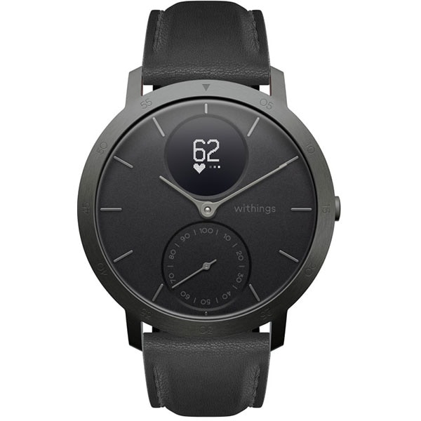Smartwatch WITHINGS Steel HR 40mm Limited Edition, Android/iOS, silicon, Slate Grey/Black