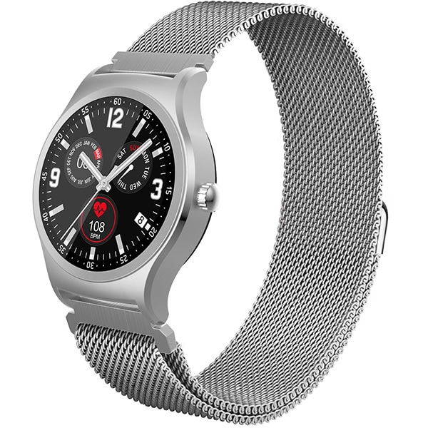 Smartwatch MYRIA Life MY9509 Android/iOS, Argintiu