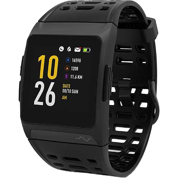 Smartwatch MYRIA MY9519BK, Android/iOS, silicon, negru