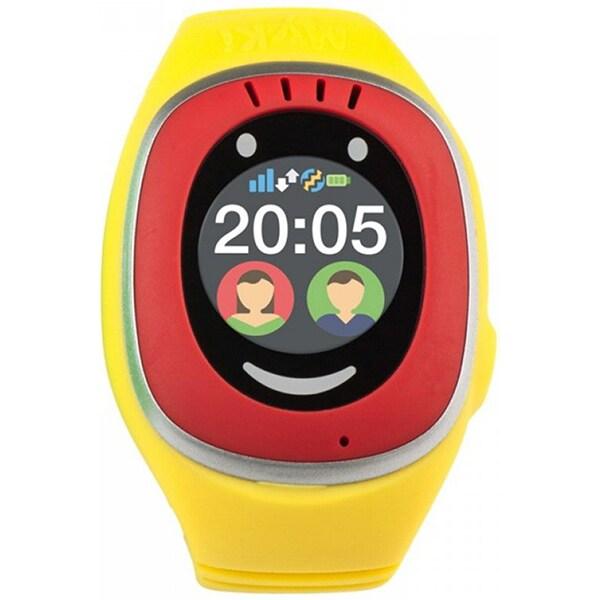 Smartwatch pentru copii MYKI Touch, Android/iOS, 3G, GPS, rosu-galben